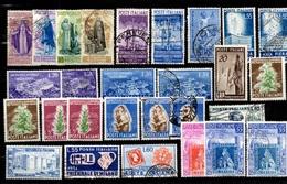 Italie Belle Collection Neufs * Et Oblitérés 1948/1953. Bonnes Valeurs. B/TB. A Saisir! - 1946-60: Mint/hinged