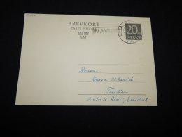 Sweden 1955 Vaasa Navire Stationery Card__(L-17476) - Postal Stationery