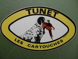 TUNET Les Cartouches - Autocollant Animaux CHIEN De CHASSE - Stickers