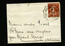 A5576) Frankreich France Kleiner Damenbrief 6.8.32 - Frankreich