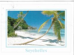 Afrique - Les Seychelles - Anse Source D'Argent - La Digue - 1 Timbre Philatélique Au Verso - Cpm - écrite - - Seychelles
