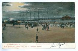 1905? Netherlands, Scheveningen, Boulevard En Wandelhoefd. Printed Pc, Used. - Scheveningen