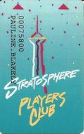 Stratosphere Casino - Las Vegas NV - 3rd Issue Slot Card - Casino Cards