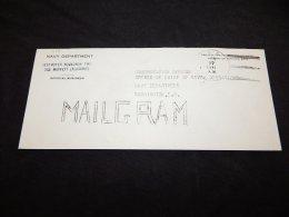 USA 1941 USS Moffett Mailgram Cover__(LB-475) - Briefe U. Dokumente
