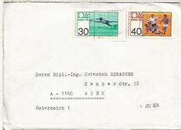 ALEMANIA BIELEFELD SELLO COPA MUNDIAL DE FUTBOL 1974 FOOTBALL - Copa Mundial