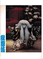 Superbe Programme Théâtre Kabuki De Tokyo (Japon), Odéon (Théâtre De France), Paris, Octobre 1965 - Théatre & Déguisements