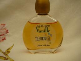 "YVES ROCHER ""VANILLE  "" TELETHON  94  FLACON COLLECTION  MINI EDT  15 ML  LIRE ET VOIR !! - Modern Miniatures (from 1961)"