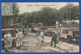 Genie école Des Chemin De Fer Et Train ( DEFAUTS VARIES TB TENUE ) TI 1133) - Regiments