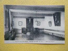 BOISSY LE SEC. Le Couvent De La Pétral. La Salle Du Chapitre. - France