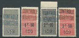 ALGERIE: **, *. CP N°16 + 18 + 24 Et 26, Les N°16 Et 24 *, Lég. Rousseurs N° 26, B - Algeria (1924-1962)