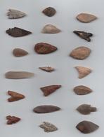 Box093 Flêches Du Néolithique Du Sahara - Archéologie