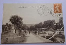 MEREVILLE-L'écluse-Passage D'un Bateau - Other Municipalities