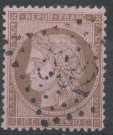 Lot N°43588   Variété/n°58, Oblit GC 532 Bordeaux, Gironde (32), Filets - 1871-1875 Ceres
