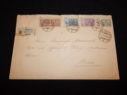 Vatican 1929 Registered Cover To Roma__(LB-782) - Vatican