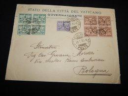 Vatican 1930 Cover To Bologna__(L-18797) - Vatican