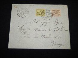 Vatican 1939 Old Cover To Firenze__(L-18840) - Vatican