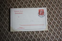Ganzsache K 4 A * -  Siehe Beschreibung ( 411 ) - Bayern (Baviera)