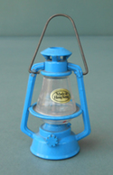Blue Railroad Lantern , Rare, Made In Hong Kong. Temperamatite, Pencil-sharpener, Taille Crayon, Anspitzer. Never Used. - Altre Collezioni