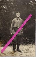 MILITARIA * GUERRE  1914/18  *  VERITABLE  CARTE  PHOTO  D 'UN  MILITAIRE  ALLEMAND * FELDPOST  N° 148 * VOIR  2  SCANS - Guerre 1914-18