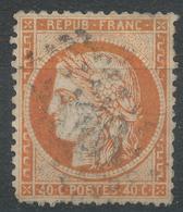 Lot N°43600   N°38, Oblit GC - 1870 Siege Of Paris