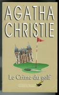 """{49396} A Christie """" Le Crime Du Golf """" Librairie Des Champs Elysées Le Club Des Masques N° 265 , 03/1998. """" En Baisse """" - Agatha Christie"""