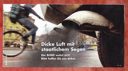 Dialogpost, BUND, Dicke Luft, Frankierwelle (53761) - BRD