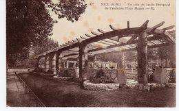 NICE UN COIN DU JARDIN PROVENCAL DE L'ANCIENNE PLACE MOZART. - Parchi E Giardini