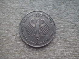 Germany  2 Mark  1970 D  (Theodor Heuss) - Allemagne