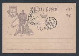Sagres. Algarve. Promontory Sagres.500 Years Of Infante D.Henrique. Postcard 10 R Stationery.Discoveries.Armillary Spher - Aardrijkskunde