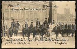 Postcard / ROYALTY / United Kingdom / British Dominions / Future King Edward VIII / Prince Of Wales / Brussels / 1918 - Oorlog 1914-18