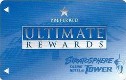 Stratosphere Casino - Las Vegas NV -  BLANK Slot Card - Large Logo Front - Casino Cards