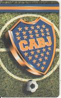 ARGENTINA(chip) - C A Boca Juniors, Telefonica Telecard(F 125), 09/98, Used - Argentina