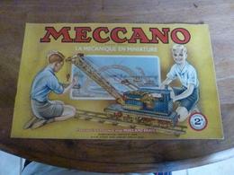Manuel D'Instructions  MECCANO N° 2A - Avec Modèles De Constructions (16 Pages Compris Couverture) - Meccano