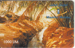 MAURITANIA - Landscape, Mauritel Prepaid Card 1000 UM(glossy Surface), Exp.date 30/06/03, Used - Mauritanië
