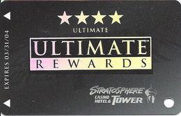 Stratosphere Casino - Las Vegas NV -  BLANK Slot Card - Casino Cards