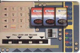 NAMIBIA(chip) - Cardphone, Telecard Vending Machine 2(value In Green), Used - Telephones