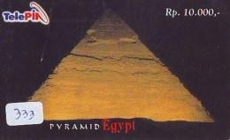Télécarte  Egypte (333) SPHINX * PYRAMIDE * TELEFONKARTE EGYPT Related *  Ägypten Phonecard - Landschaften