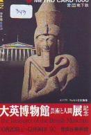 Carte Prépayée  Japon * Egypte (343) SPHINX * PYRAMIDE * KARTE EGYPT Related * Ägypten PREPAID CARD Japan - Landschaften