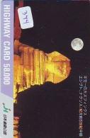 Carte Prépayée  Japon * Egypte (344) SPHINX * PYRAMIDE * KARTE EGYPT Related * Ägypten PREPAID CARD Japan - Landschaften