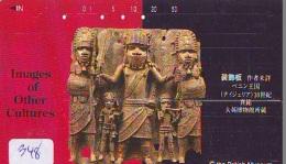 Télécarte Japon Egypte (348) SPHINX * PYRAMIDE * TELEFONKARTE EGYPT Related *  Ägypten Phonecard Japan * - Paysages
