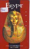 Télécarte Japon Egypte (345) SPHINX * PYRAMIDE * TELEFONKARTE EGYPT Related *  Ägypten Phonecard Japan * - Paisajes
