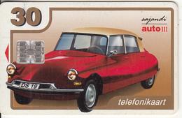 ESTONIA - Citroen DS 19(1955), 06/00, Used - Estonia