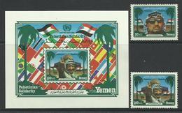 YEMEN DU SUD - 1983 - N°277/8 + BLOC N°6 ** - Yemen
