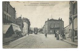 MONTFERRAND (Puy De Dôme) Avenue De La République - Animée - Tramway - Clermont Ferrand