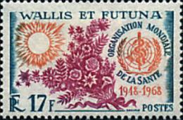 Ref. 88722 * NEW *  - WALLIS AND FUTUNA . 1968. 20th ANNIVERSARY OF THE WHO. 20 ANIVERSARIO DE LA OMS - Wallis And Futuna
