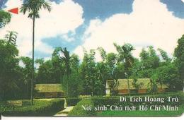 CARTE-MAGNETIQUE-VIETNAM-DITICH HOANG TRU-BE-RARE - Viêt-Nam