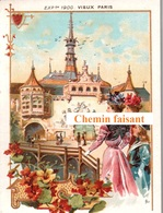 Chromo EXPO UNIVERSELLE 1900 - Vieux PARIS -  Scans Recto-verso - Chromos