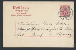 9de.Postkarte. Die Post Wurde 1907 übergeben.Kotzschenbroda.Radebeul.Meißen.Sachsen - Allemagne