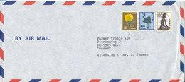 Japan Air Mail Cover Sent To Denmark Nakano 2-5-1986 - Airmail