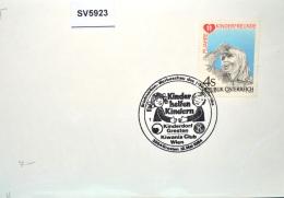 SV5923 Kinderdorf Gresten, KIWANIS-Club Wien, 3264 Gresten AT 12.5.1984 / 1 - Affrancature Meccaniche Rosse (EMA)